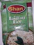Shan Premium Quality Kernel Basmati Rice 10 Lbs Bag - Extra Long Aged Aromatic - NET WT 10 lbs by Shan