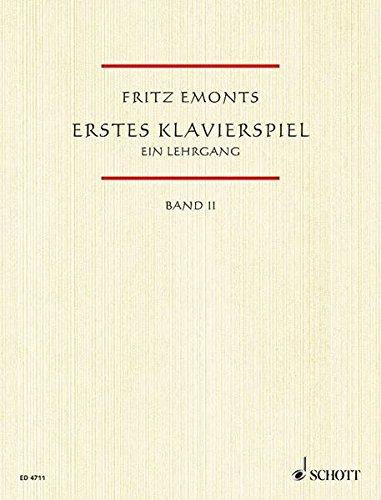 Erstes Klavierspiel, Bd.2