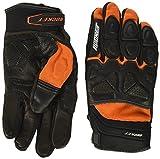 Joe Rocket Men's Atomic X Motorcycle Gloves (Orange/Black, X-Large)