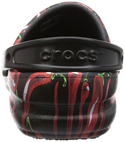 Crocs Black Mule Bistro Crocs Unisex Peppers Unisex rzqY8wr