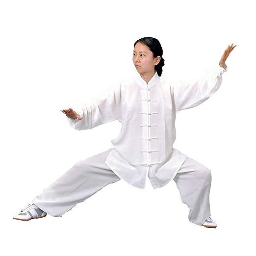 XGYUII Mujer Ropa de Tai Chi Uniforme de Artes Marciales ...