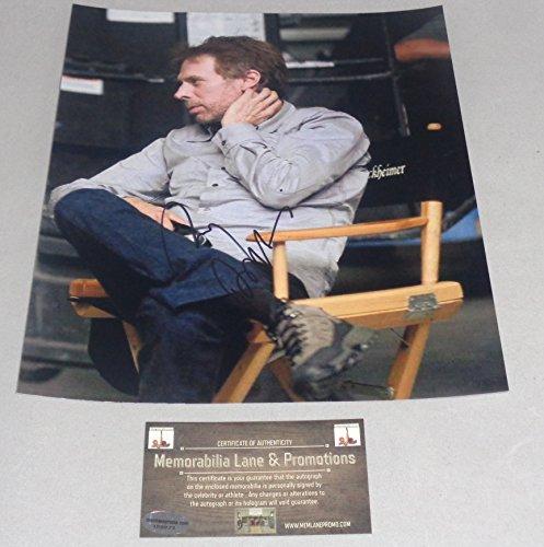 Jerry Bruckheimer Autographed 8x10 COA Memorabilia Lane & - Gun Promotions Top