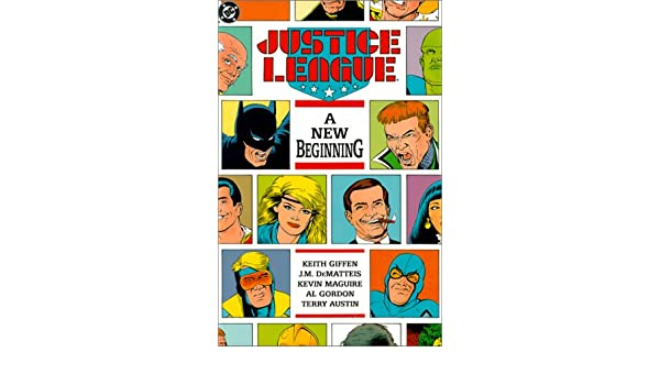 Justice League: A New Beginning Justice League DC Comics ...