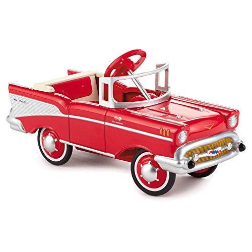 Hallmark Kiddie Cars QEP2169 Limited Edition Red 1957 Chevy Bel Air (Air Bel Classic Car 57)