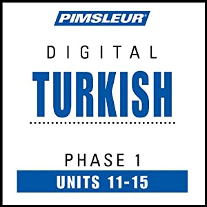 Turkish Phase 1, Unit 11-15 Audiobook