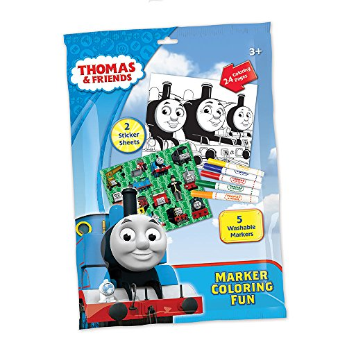 Thomas and Friends Coloring Activiy Set with Washable Mar...