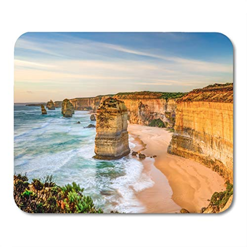 (Emvency Mouse Pads The Rock Stacks That Comprise Twelve Apostles at Sunset Mouse Pad for notebooks, Desktop Computers mats 9.5