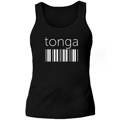 Idakoos Tonga barcode - Paesi - Canotta Donna