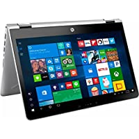 2017 HP Pavilion x360 2-in-1 14 Touchscreen IPS High Performance Laptop, Intel Core i3-7100U Processor, 6GB DDR4 RAM, 500GB HDD, 8-hour Battery Life, 802.11ac, Webcam, HDMI, Windows Ink, Windows 10