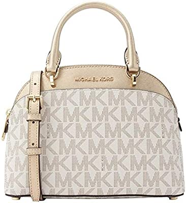 Michael Kors 35H7GY3S5M Emmy Small Cindy Dome Signature Logo