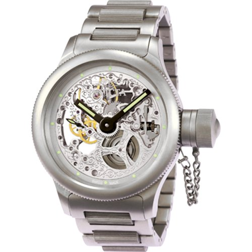 Invicta Men's 3467 Russian Diver Collection Titan Mechanical Titanium Watch