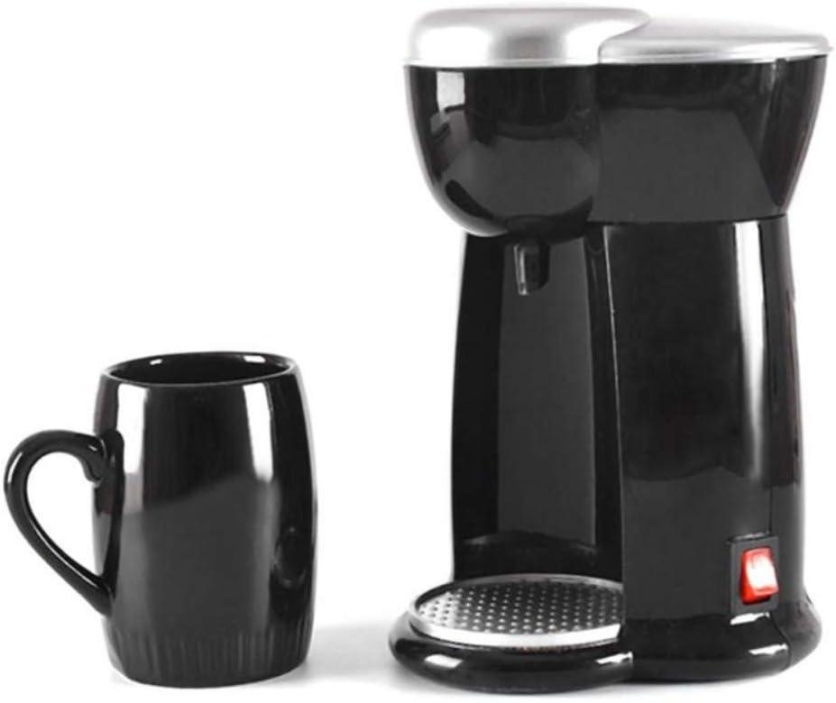 Enchufe de 300W de una sola taza de café de goteo Cafeteras Cafetera eléctrica automática Máquina de café expreso Eu 300W_bdpq: Amazon.es: Hogar