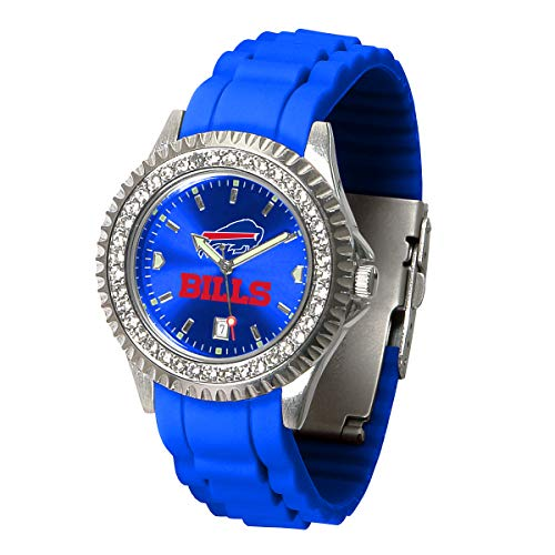 Game Time NFL Buffalo Bills Womens SparkleWrist Watch, Team Color, One Size