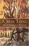 img - for A Man Thing book / textbook / text book