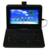 "Proscan 10"" Tablet Touch Screen Android 5.1 Lollipop 1.2GHz Quad Core Processor Keyboard"