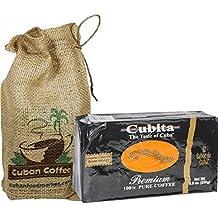 Cafe Cubita Coffee. 8.8 oz pack, includes a beautiful burlap bag.