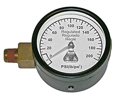 """Porter Cable C3001 Compressor Replacement 2"""" 200 PSI Gauge # Z-28274"""