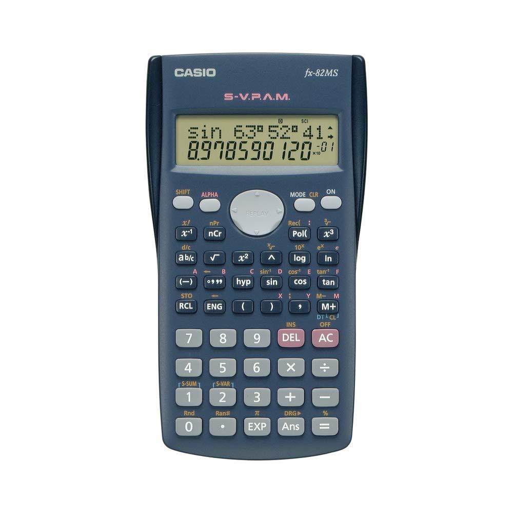 Casio #FX-82MS 2-Line Display Scientific Calculator by Casio
