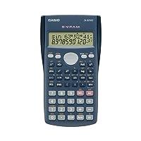 Casio FX-82MS-SC-MH Calculadora Científica, 2 Líneas de 10 Dígitos/2 Exponente, 240 Funciones, gris oscuro