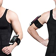TFY Open-Face Sport Workout Armband Wrist Band Holder with Case Cover for iPhone 6 Plus / 6S Plus