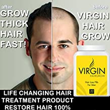 Virgin Hairgrow Uk's No.1 Stop Hair Loss and Baldness Treatment Pill!