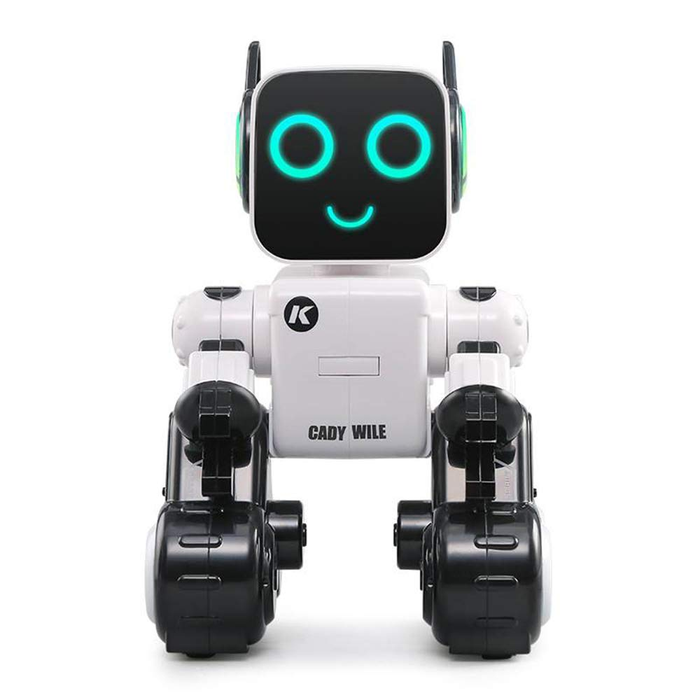 Hi-Tech Wireless Interactive Robot RC Robot Toy for Boys, Girls, Kids, Children (White)