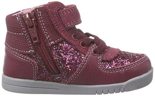 Clarks Crazy Snug Fst Mädchen Hohe Sneakers Violett (Berry Combi)