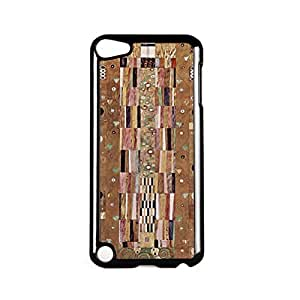 Stoclet Frieze by Gustav Klimt Black Hard Plastic Case Snap-On Protective Back Cover for Apple? iPod Touch 5th Gen by Painting Masterpieces + FREE Crystal Clear Screen Protector