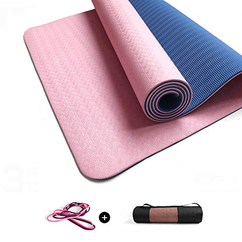 LXMBox Material Antideslizante para Yoga, colchoneta de Yoga ...
