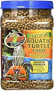 Zoo Med Natural Aquatic Turtle Food, Growth Formula Pellets, 850 gm