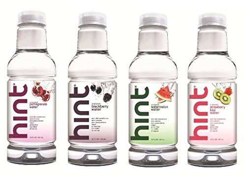Hint Premium Essence Water, 16 Ounce Bottles (Pack of 12)
