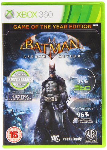 Asylum 360 Xbox Arkham (Batman Arkham Asylum Game Of The Year Edition (UK))