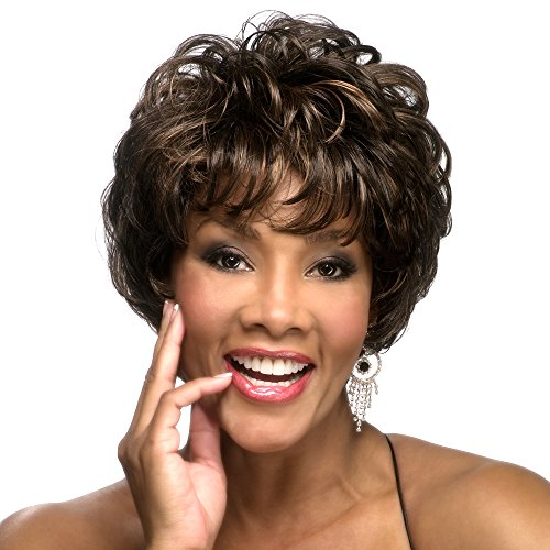 Wig Comfort Cap Mono - Vivica A. Fox JOLEEN-V Synthetic Fiber, PS Cap Wig in Color FS1B30