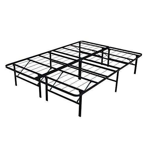 Homegear Platform Metal Bed Frame / Mattress Foundation - Double - Platform Double Bed