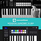 Novation Launchkey 25 MK3 USB MIDI Keyboard