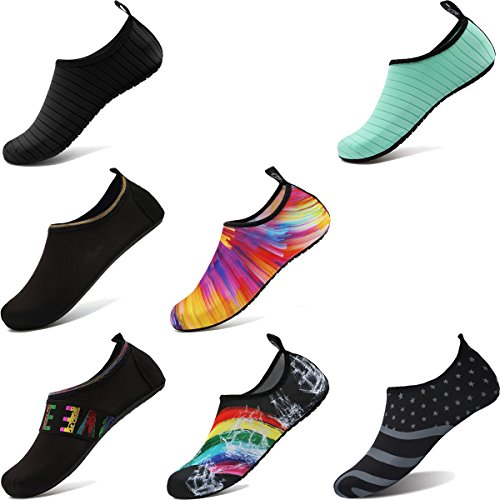 Men Quick Barefoot Yoga Bofshow Socks for Orange Water Summer Kids Women Shoes Colorful Dry qz1af1w