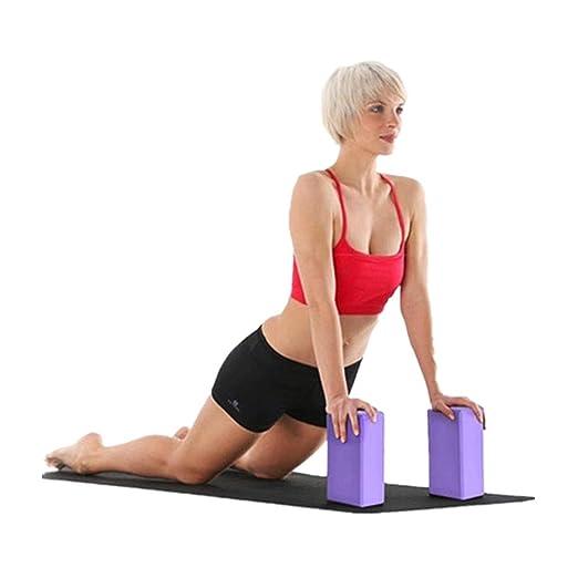 VJGOAL Ejercicio Fitness Color sólido Bloques de Yoga Espuma ...