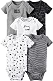Carter's Baby Boys' 5-Pack Baby Bears Bodysuits 3 Months