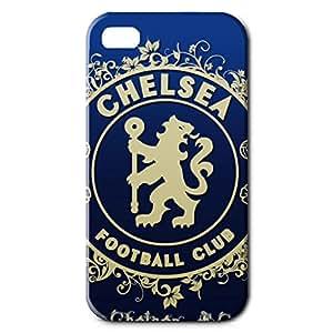 Unique Design FC Chelsea Football Club Theme Football Club Logo Phone Case Cover For Iphone 4 3D Plastic Phone Case