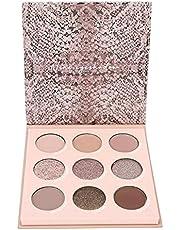 9 kolorów Shining Matte Eye Shadow Trwały kosmetyczny makijaż do powiek