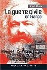 La guerre civile en France par Marx