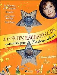 Quatre contes enchanteurs : La Princesse et le Crapaud ; Poucette; Les Cygnes sauvages ; Tom Pouce (2CD audio)