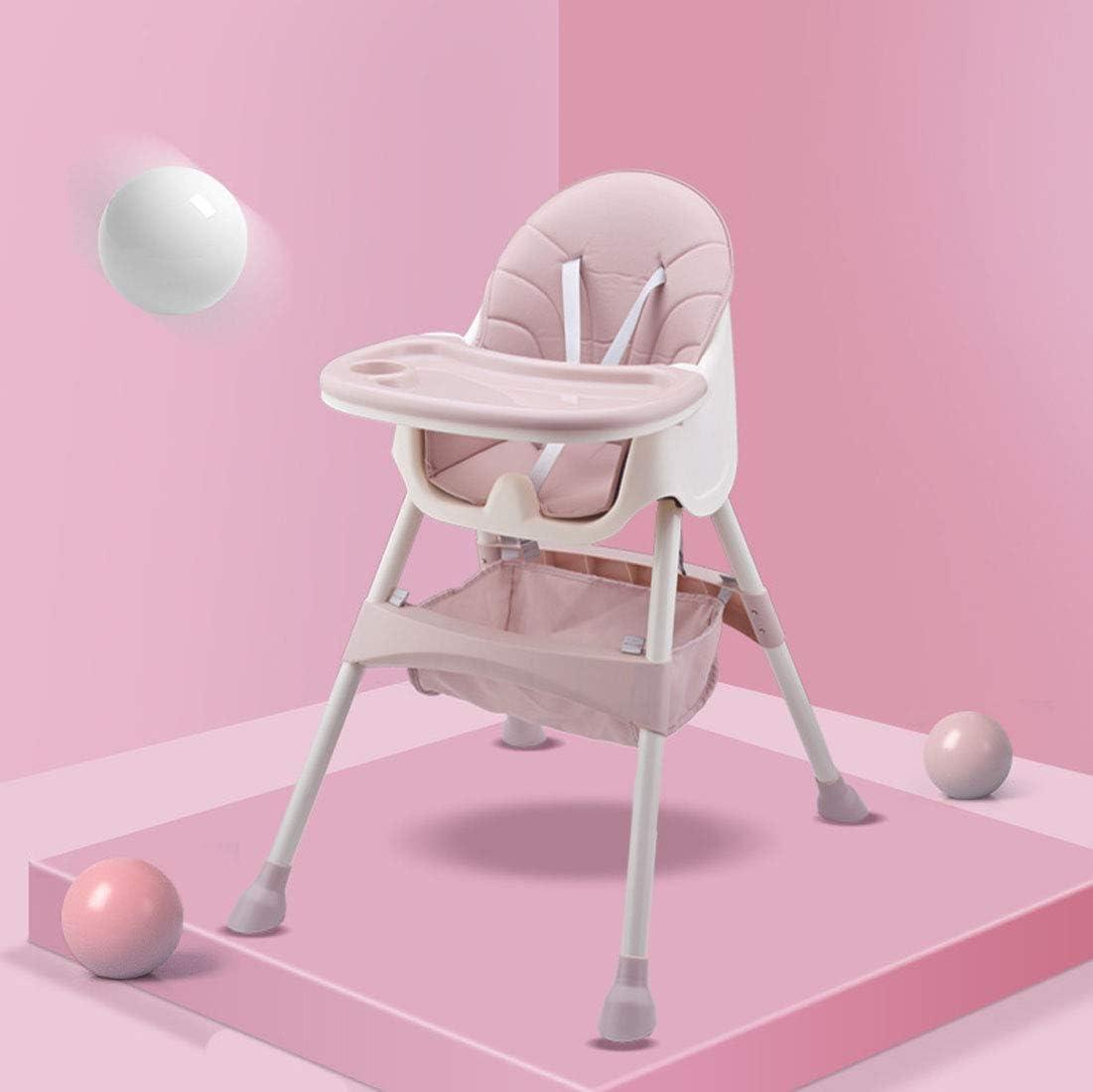 調整可能 多機能リクライニング折りたたみハイチェアママハイチェア-トワイライトリクライニングコンパクトパッド入りベビーハイローチェアダブルトレイ収納バスケット付き 幼児