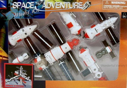 Models & Model Kits NASA Space Adventure Child Plastic Toy Model Kit -  Space Station | PrestoMall - Electronic