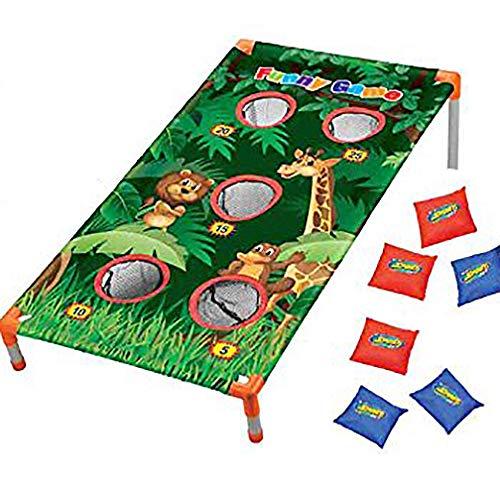Toss Bag Bean Animal Game - Adorox Bean Bag Toss Game Set Animal Zoo Jungle Theme Parties