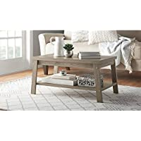 Mainstays Logan Coffee Table - Rustic Oak