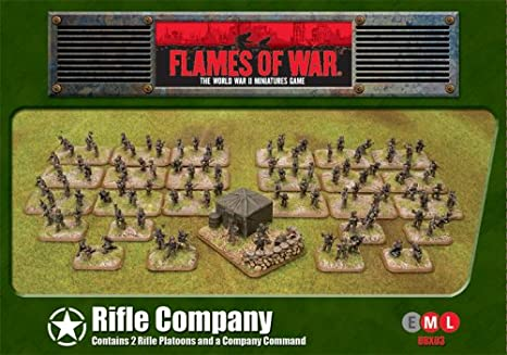 Flames of War Miniatures - Rifle Empresa [importado de Alemania]: Amazon.es: Juguetes y juegos