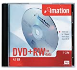 Imation IMN42492 4.7 GB DVD+RW Single Sided