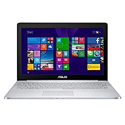Asus Zenbook Pro UX501JW-XS73 15.6 Inch Ultrabook (Aluminum) Intel Core i7-4720HQ 2.6GHz 16GB DDR3 512GB SSD GTX960M USB3.0 Windows 10 Professional