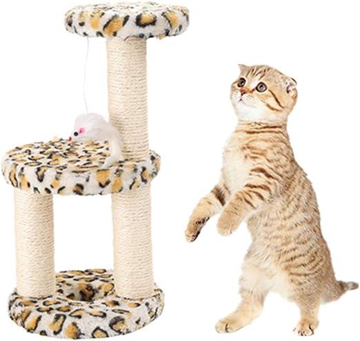 DC CLOUD Rascador para Gatos Juguetes para Gatos Gato Jugar árbol ...